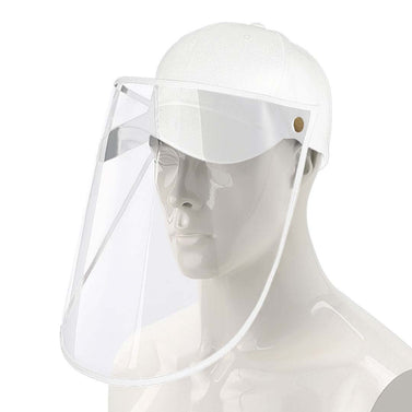 Outdoor Protection Protective Cap HD Shield Adult White