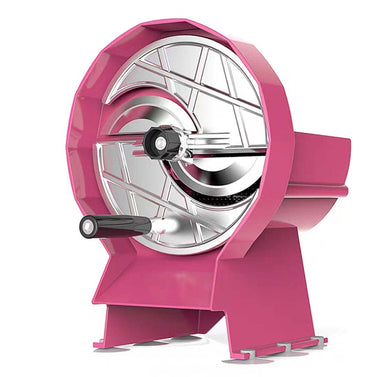 Commercial Manual Vegetable Fruit Slicer Pink