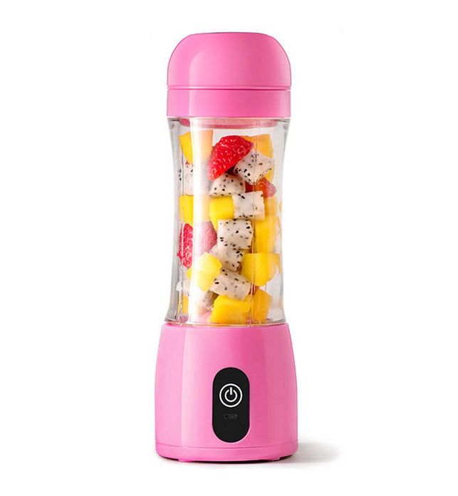 380ml Portable Rechargeable Handheld Juicer Pink