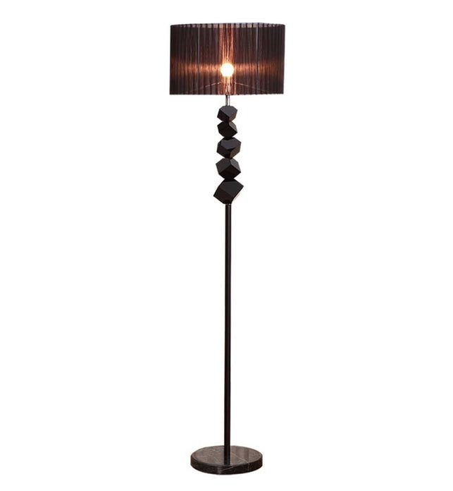 Floor Lamp with Dark Shade