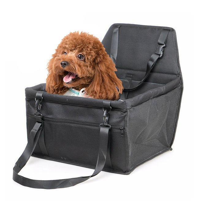 Waterproof Car Seat Portable Dog Carrier Bag Black