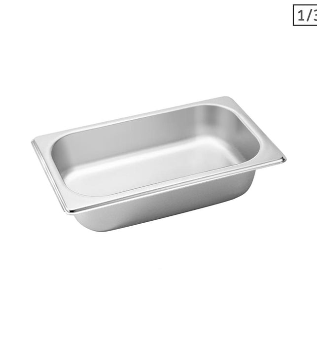 Gastronorm GN Pan Full Size 1/3 GN Pan 6.5 cm Deep Tray