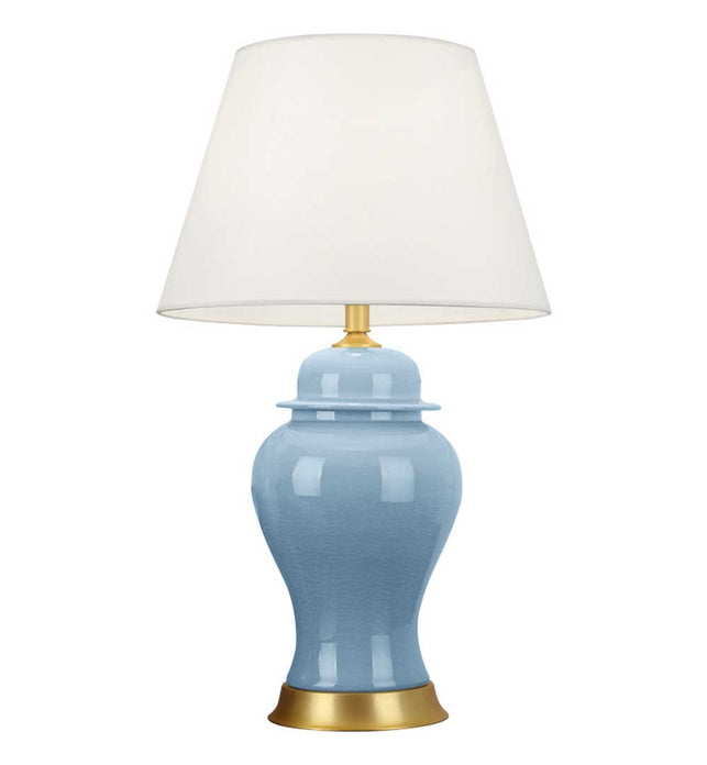 Ceramic Table Lamp Blue