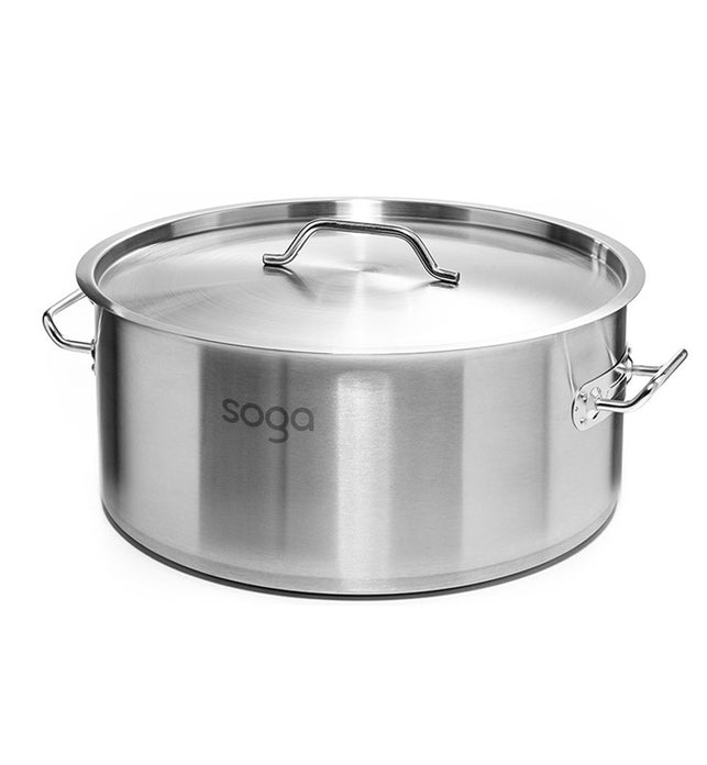 113L Top Grade 18/10 Stainless Steel Stockpot