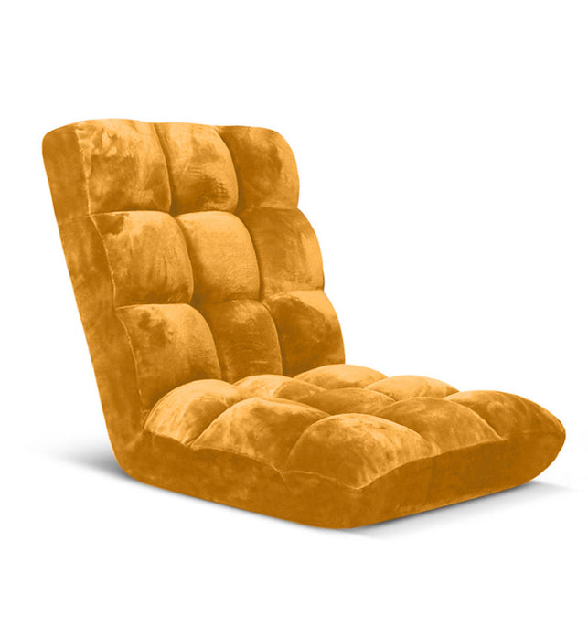 Recliner Lounge Sofa Cushion Apricot