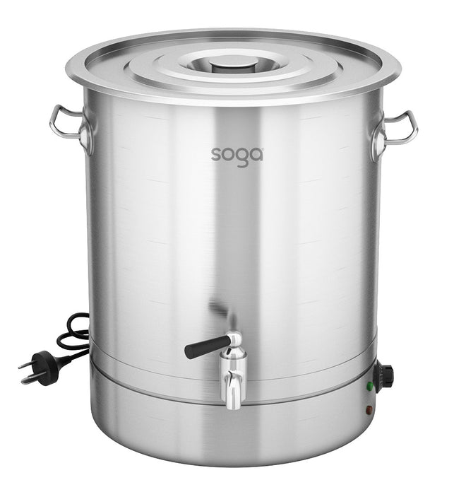 48L Stainless Steel URN Commercial Water Boiler