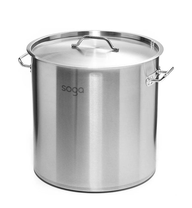 12L Top Grade 18/10 Stainless Steel Stockpot