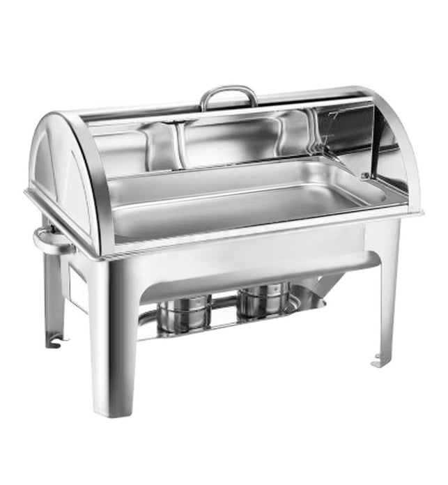 9L Stainless Steel Full Size Roll Top Chafing Dish