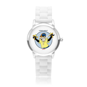 "CHIMPS WORLD Kids´ ""Toto"" designerwatch / 4 colours"