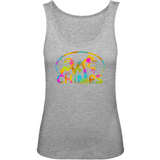 'Hear No, See No, Don't Know' CHIMPS WORLD Ladies/Teen Bio TankTop