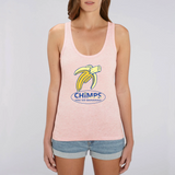 CHIMPS WORLD 'You Go Bananas' Limited Edition Teen Tank Top