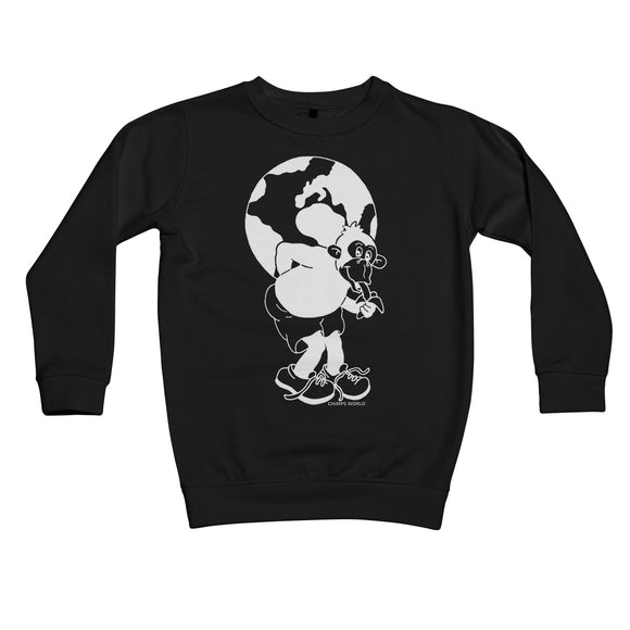 'Atlas' Tutu Kids Sweatshirt