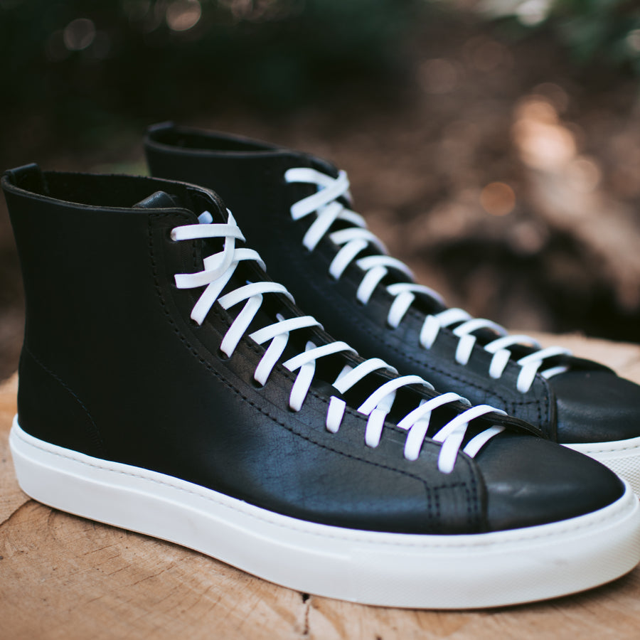 Womens Riverside Hi in Black Dublin