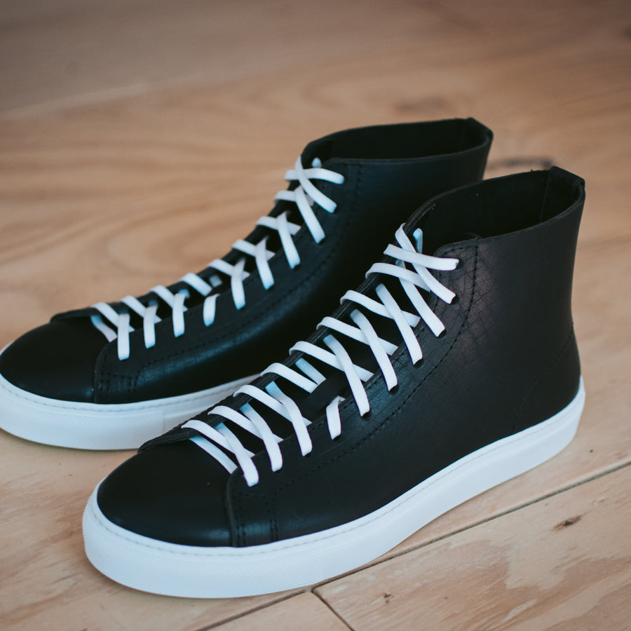 Mens Riverside Hi in Black Dublin