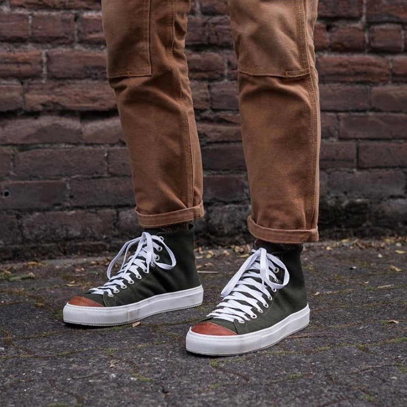 Men's Riverside Hi in Vintage Military