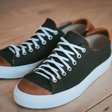 Mens Riverside Lo in Vintage Military