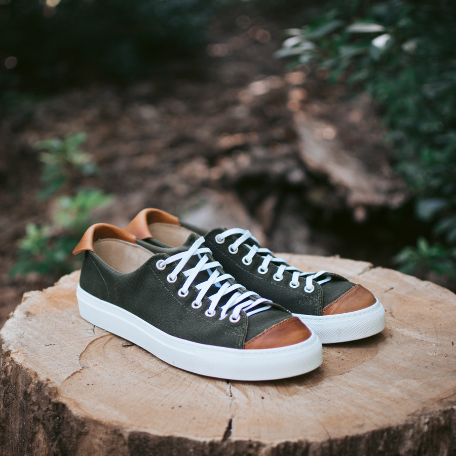 Womens Riverside Lo in Vintage Military