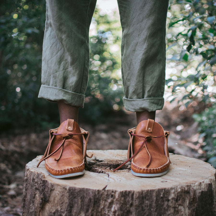Womens Balsam Moc in Natural Dublin