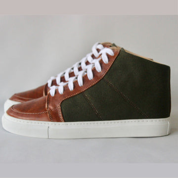 Lexington Mid in Vintage Military Canvas