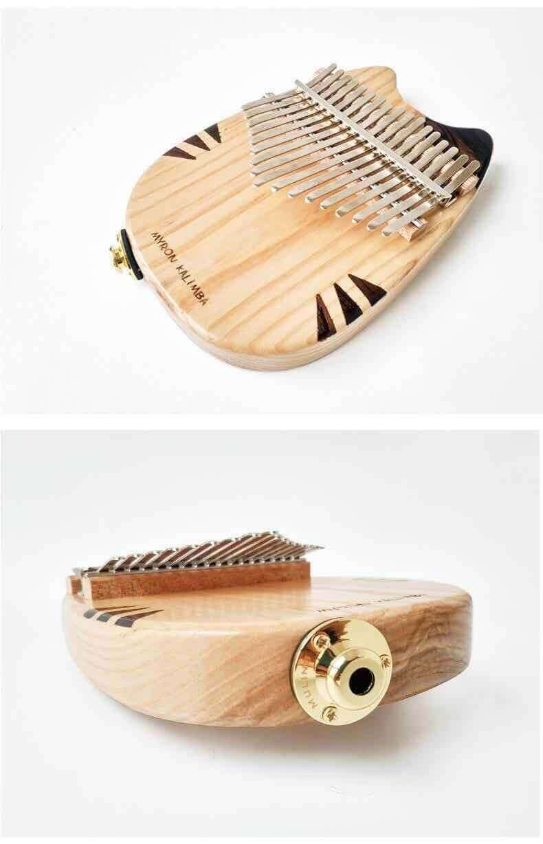 NEW ARRIVAL | MYRON CAT/BEAR-SHAPED BOARD KALIMBA