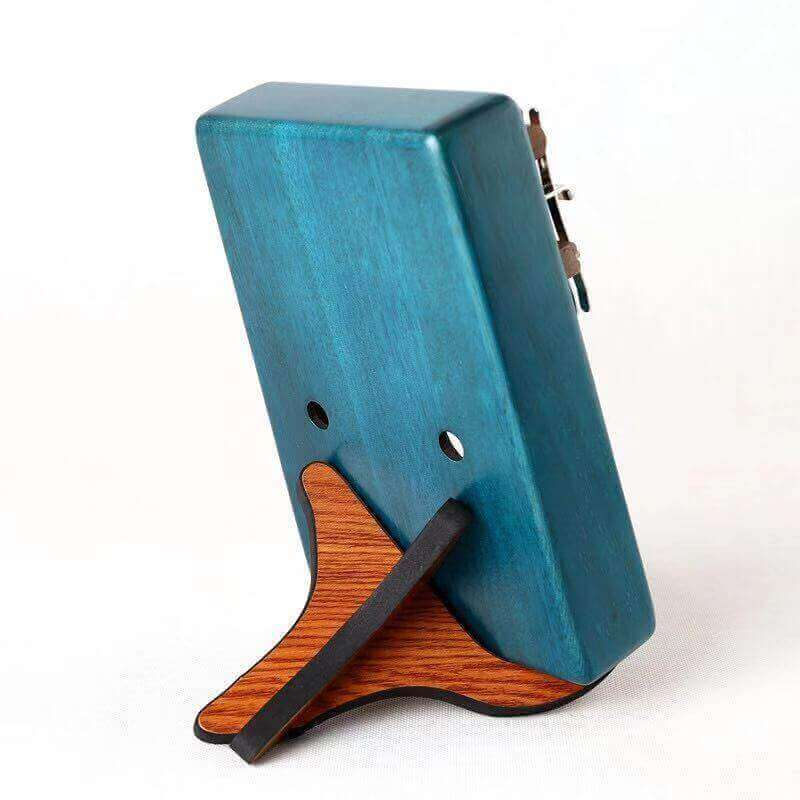 Portable Wooden Thumb Piano Stand