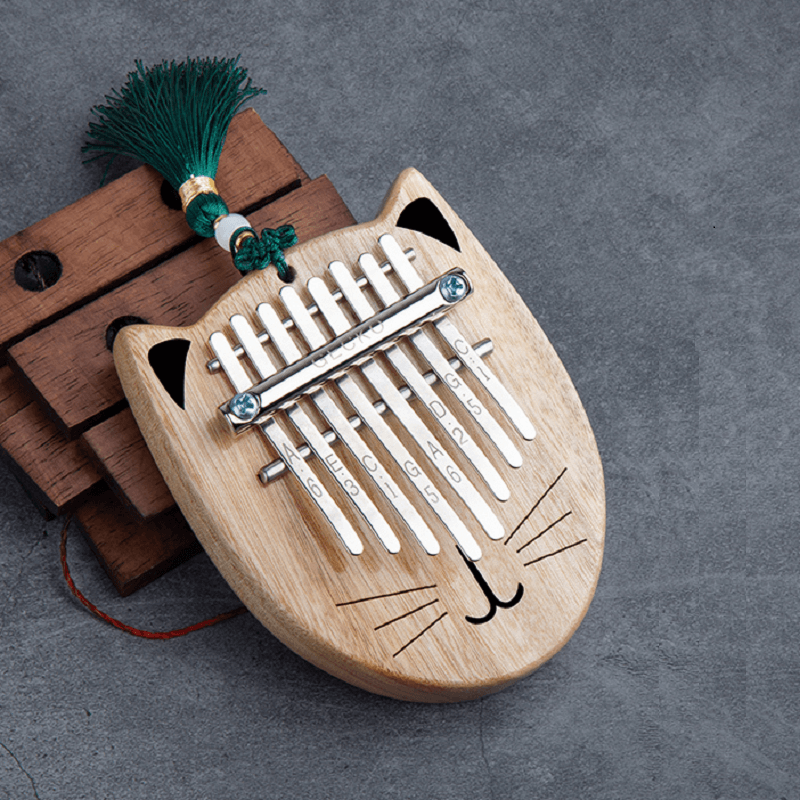 gecko mini 8 key cat kalimba Valentine's Day Gifts