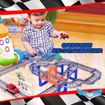 60% OFF!! Double-Layer Car Race Track