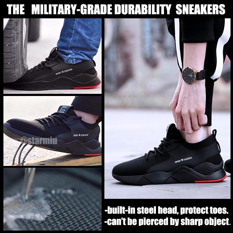 (FREE SHIPPING) THE INDESTRUCTIBLE HEAVY DUTY SNEAKERS