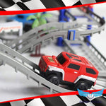 Double-Layer Car Race Track