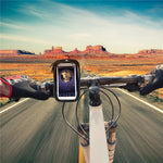 Waterproof Motorcycle or Bicycle Phone Mount Pouch