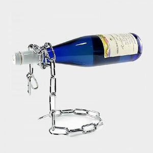Magic Wine Bottle Holder Multiple Chain Lasso/Rope Illusion Rack Champagne Stand