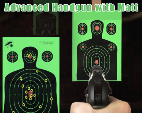 Advanced Handgun Training with Matt
