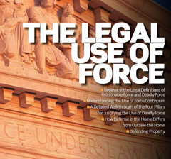 $25 Mini Class - The Legal Use of Force in Michigan