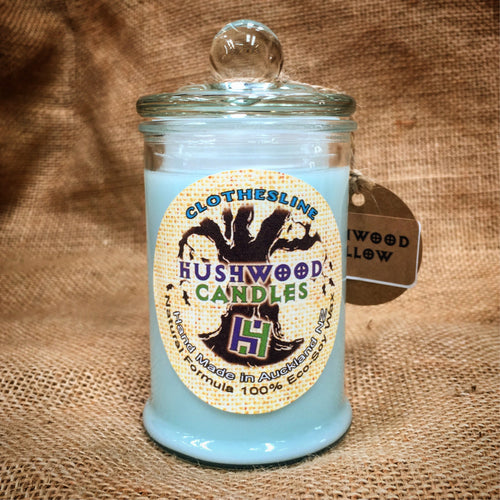 Clothesline - Medium Candle - Hushwood Hollow