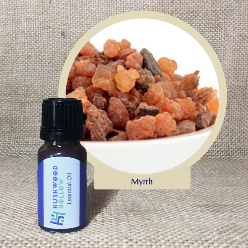 Myrrh - Pure Therapeutic Grade Essential Oil - Hushwood Hollow