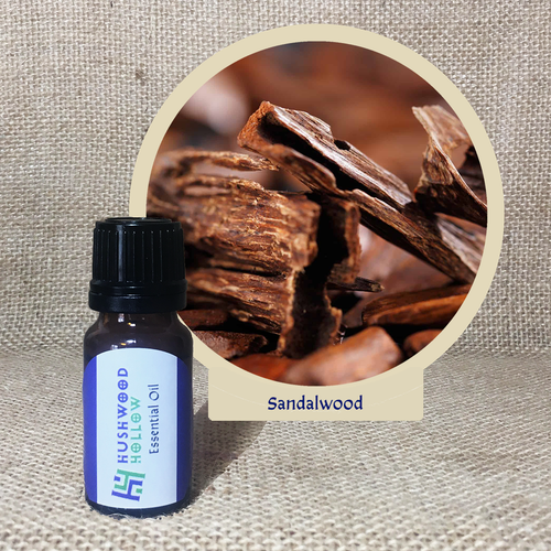 Sandalwood - Pure Therapeutic Grade Essential Oil - Hushwood Hollow