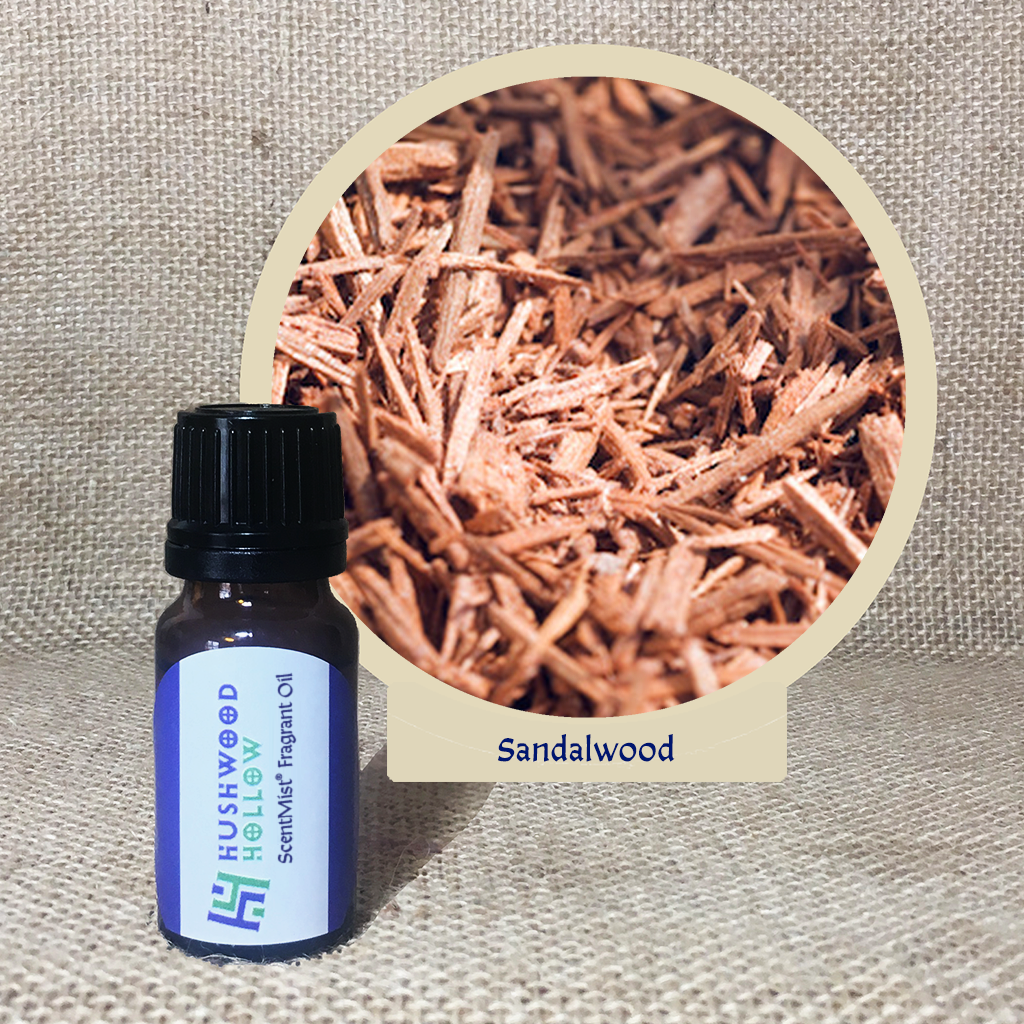 Sandalwood - ScentMist® Fragrance Oil - 10ml - Hushwood Hollow