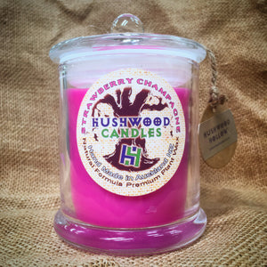 Strawberry Champagne - Large Candle - Hushwood Hollow