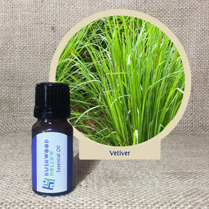 Vetiver - Pure Therapeutic Grade Essential Oil - Hushwood Hollow