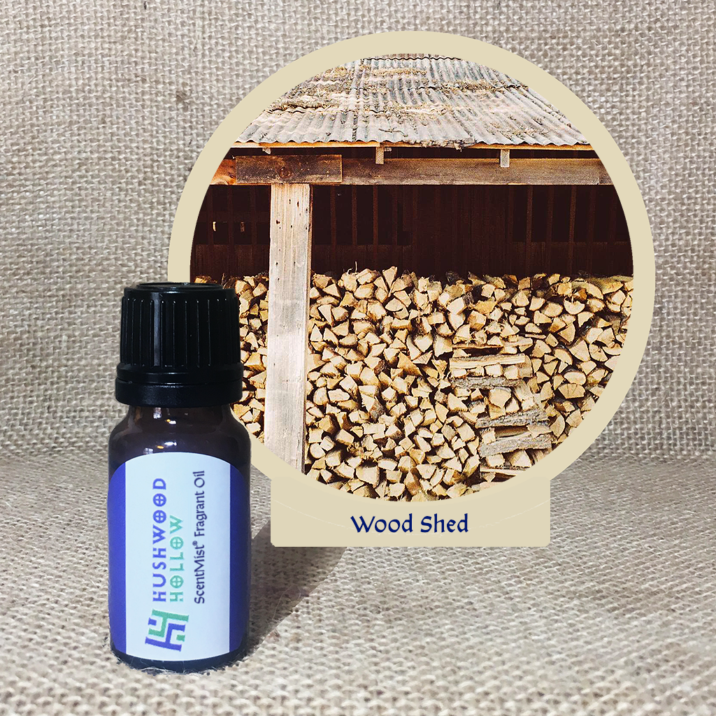 Wood Shed - ScentMist® Fragrance Oil - 10ml - Hushwood Hollow