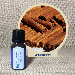 Cinnamon Bark - Pure Therapeutic Grade Essential Oil - Hushwood Hollow