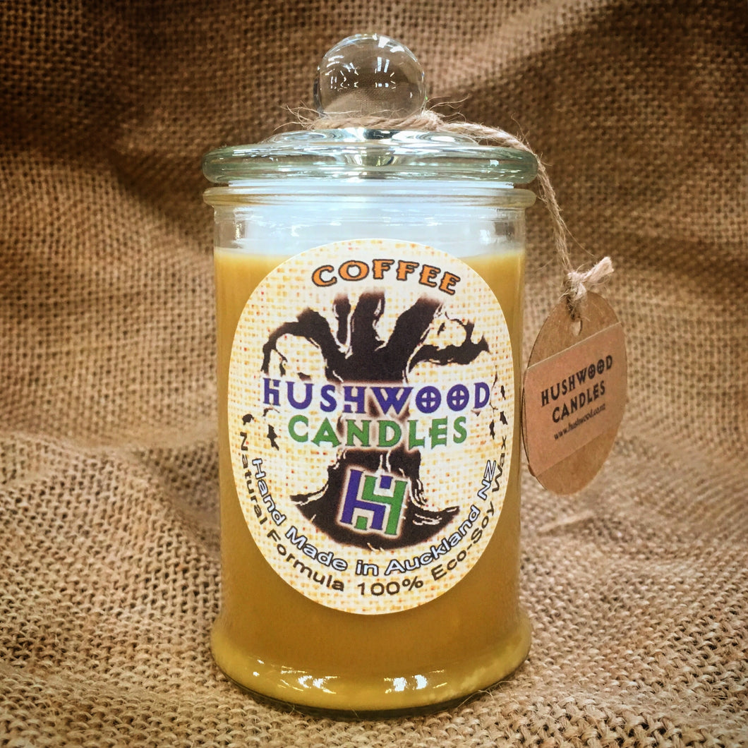 Coffee - Medium Candle - Hushwood Hollow