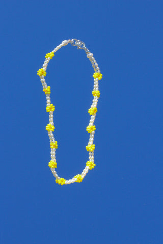 Dazy Necklace - Mellow Yellow