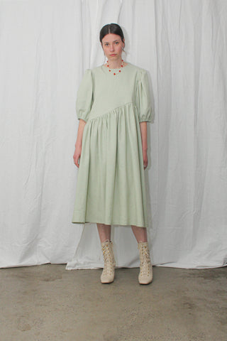 Greta Midi Dress - Mint