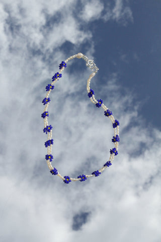 Dazy Necklace - Royal Blue