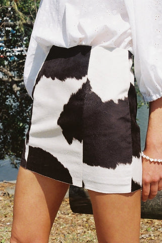 Mini Moo Skirt