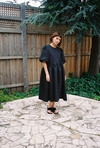 Greta Dress Black