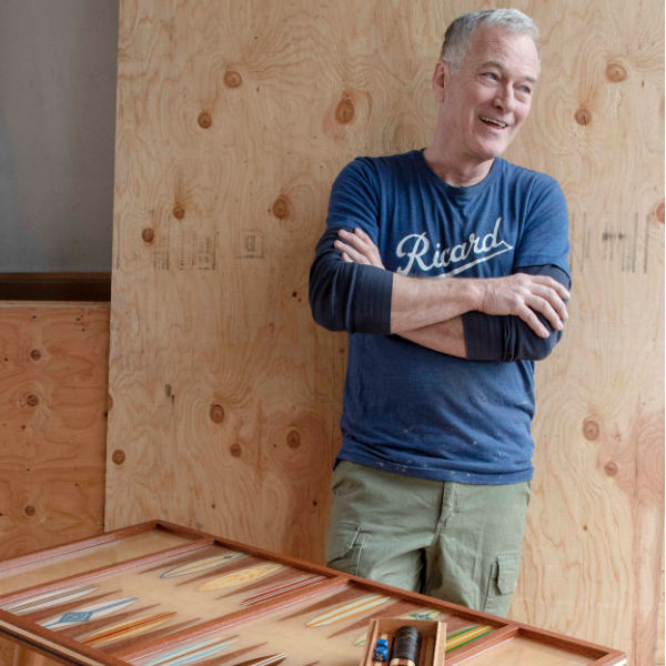 PLAYFUL | Long Island Backgammon Board Craftsman Creates by the Sea