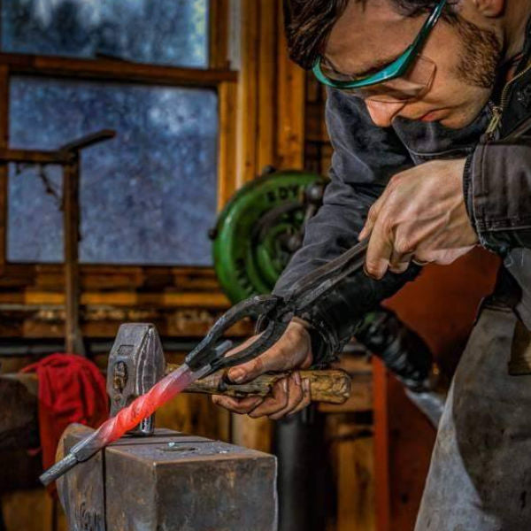 SEASONED | A Second-Generation Blacksmith Turns His Craft Into an Art Form