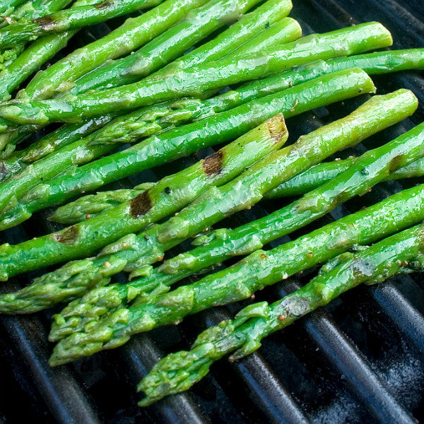 """Blooming"" Recipe of the Month: Grilled Asparagus"
